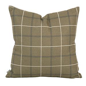 Oxford Moss 20 x 20 Pillow - Down Insert