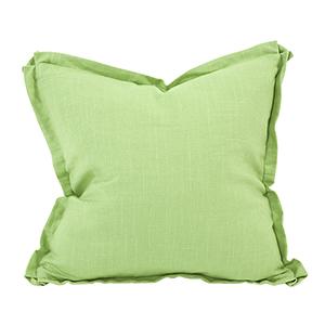 Davida Kay Linen Slub Grass 20 x 20 Pillow - Down Insert