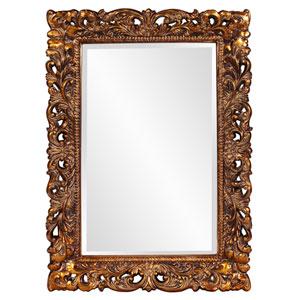 Barcelona Gold Rectangle Mirror