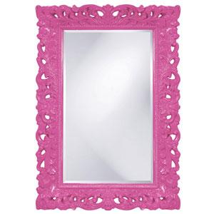 Barcelona Hot Pink Rectangle Mirror