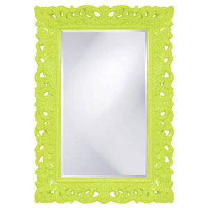 Barcelona Green Rectangle Mirror