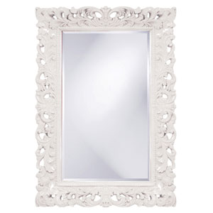 Barcelona White Rectangle Mirror
