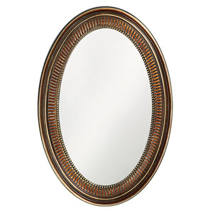 Ethan Bronze Oval Mirror