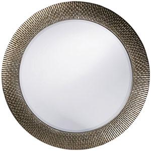 Bergman Silver Round Mirror