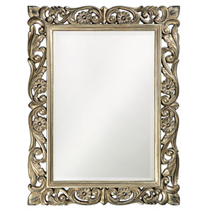 Chateau Antique Bronze Rectangle Mirror