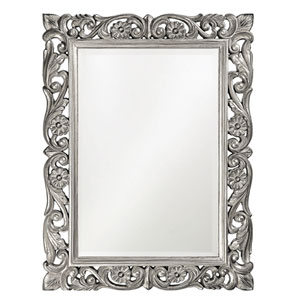 Chateau Nickel Rectangle Mirror