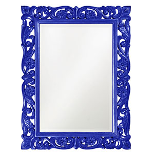 Chateau Royal Blue Rectangle Mirror