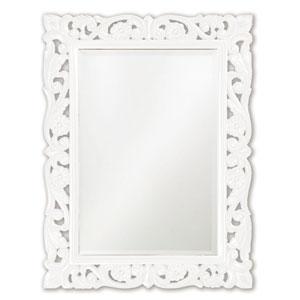 Chateau White Rectangle Mirror