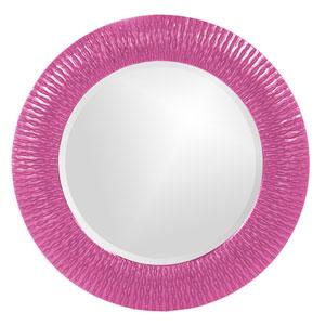 Bergman Hot Pink Small Round Mirror