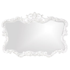 Talida White Rectangle Mirror