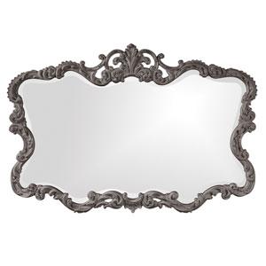 Talida Charcoal Gray Rectangle Mirror