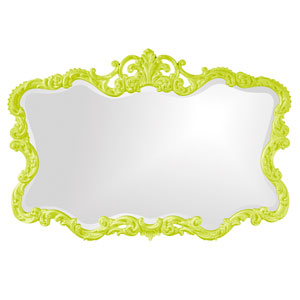 Talida Green Rectangle Mirror