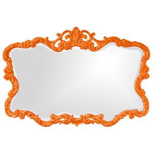 Talida Orange Rectangle Mirror
