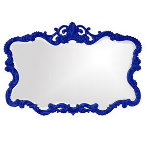 Talida Royal Blue Rectangle Mirror