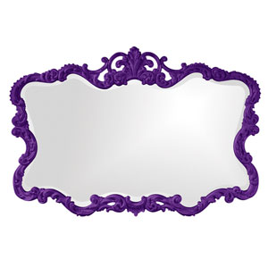Talida Royal Purple Rectangle Mirror