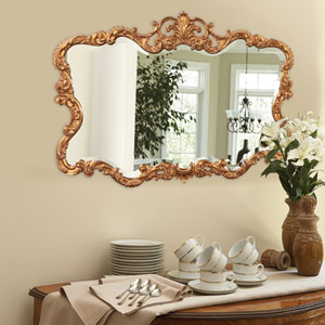Talida Gold Rectangle Mirror