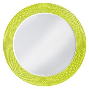 Bergman Glossy Moss Green Large Round Mirror