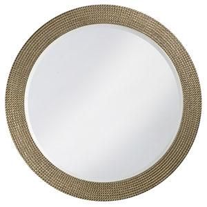Lancelot Silver Round Mirror