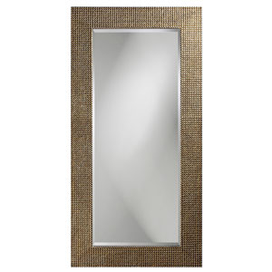 Lancelot Silver Leaf Tall Rectangle Mirror