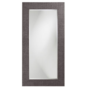 Lancelot Charcoal Gray Rectangle Mirror