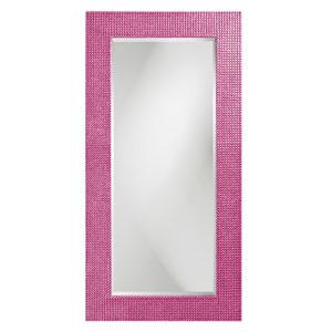 Lancelot Glossy Hot Pink Rectangle Mirror