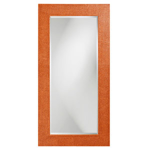 Lancelot Glossy Orange Rectangle Mirror