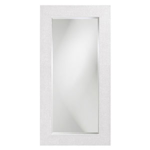 Lancelot Glossy White Rectangle Mirror