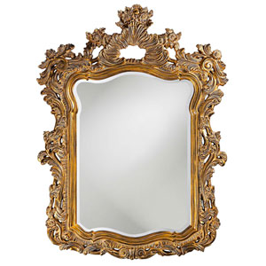 Turner Antique Gold Rectangle Mirror