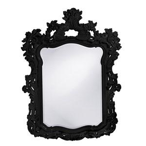 Turner Black 1-Inch Rectangle Mirror