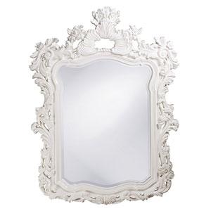 Turner White Rectangle Mirror