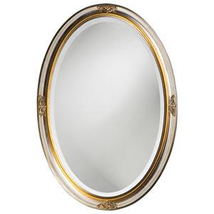 Carlton Silver Oval Mirror