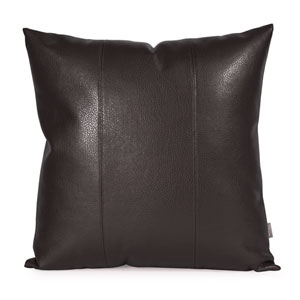 Avanti Black 20-Inch Square Pillow