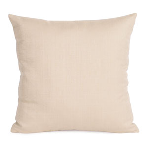 Sterling Sand 20-Inch Square Pillow