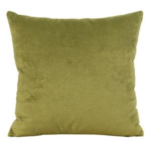 Bella Moss Green 20-Inch Square Pillow