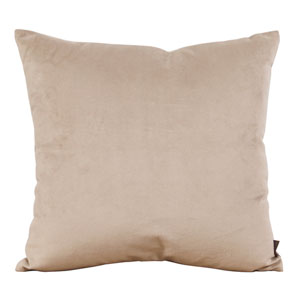 Bella Sand 20-Inch Square Pillow
