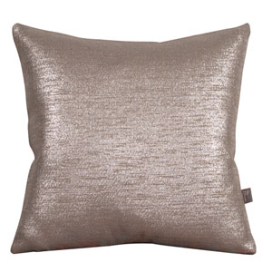 Glam Pewter 20-Inch Square Pillow