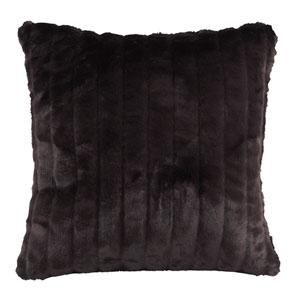 Mink Black 20 x 20-Inch Pillow