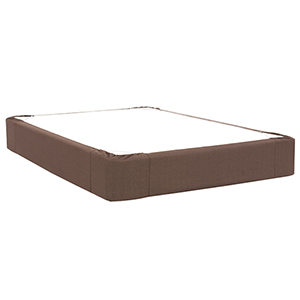 Sterling Chocolate Twin Boxspring Cover