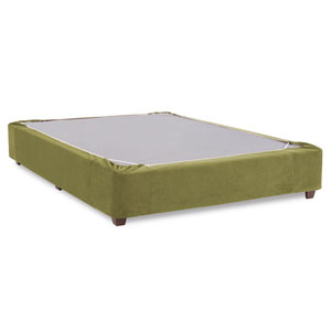 Bella Moss Twin Boxspring Kit and Cover