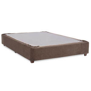 Bella Pewter Twin Boxspring Kit and Cover