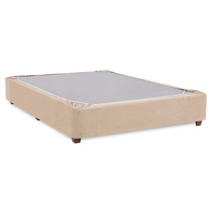 Bella Sand Queen Boxspring Kit and Cover