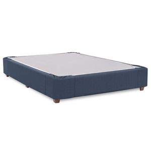 Sterling Indigo Queen Boxspring Kit and Cover