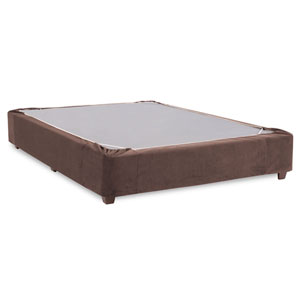 Bella Chocolate King Boxspring Kit and Cover
