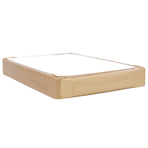 Luxe Gold King Boxspring Cover