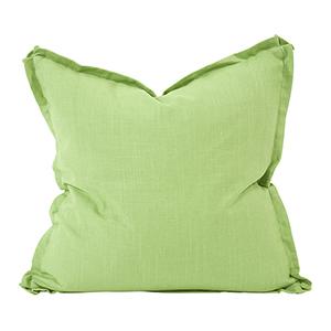 Davida Kay Linen Slub Grass 24 x 24 Pillow - Down Insert