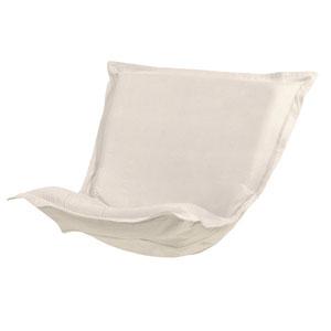 Sterling Sand Puff Chair Cushion