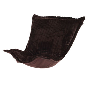 Puff Mink Brown Chair Cushion