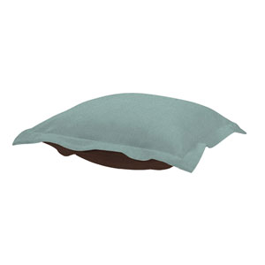 Sterling Breeze Puff Ottoman Cushion