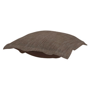 Coco Slate Puff Ottoman Cushion