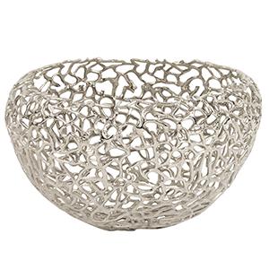 Aluminum Silver Nest Basket